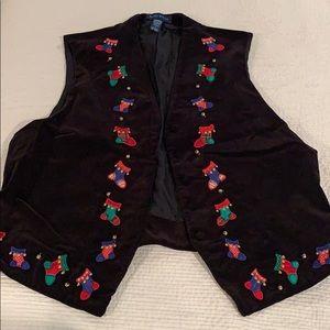 Vintage Karen Scott Christmas vest 🎄